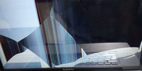 macbook schermo rotto